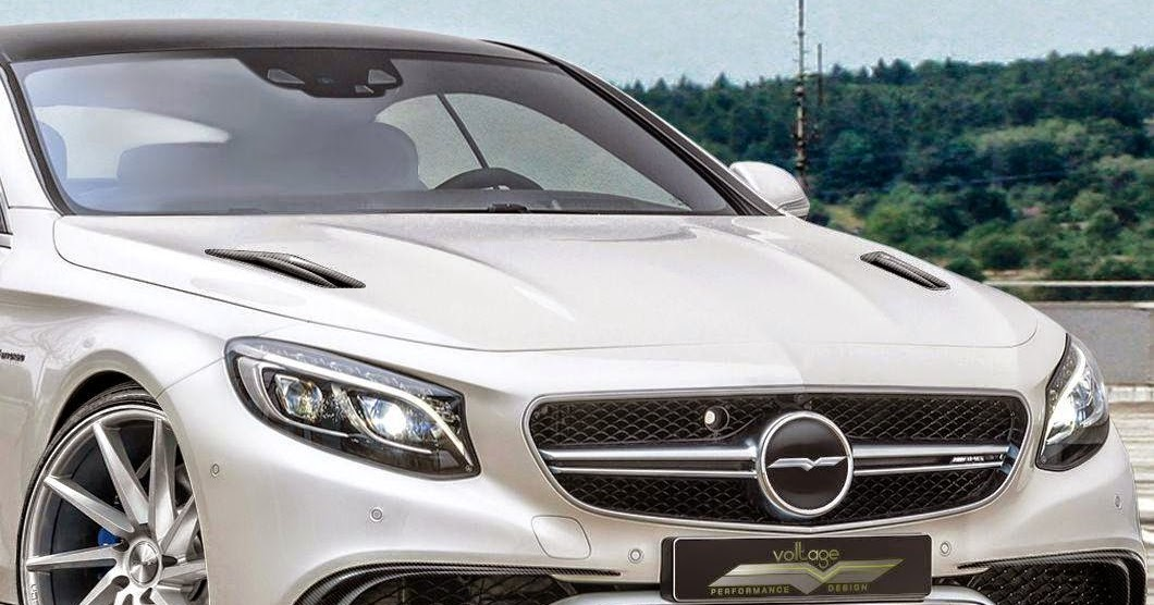 Mercedes benz s63 amg coupe by voltage design benztuning for R h mercedes benz