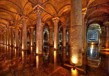 Tempat wisata terkenal di Turki istambul Istanbul basilica cistern sistern