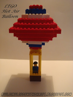LEGO Hot Air Balloon Creation