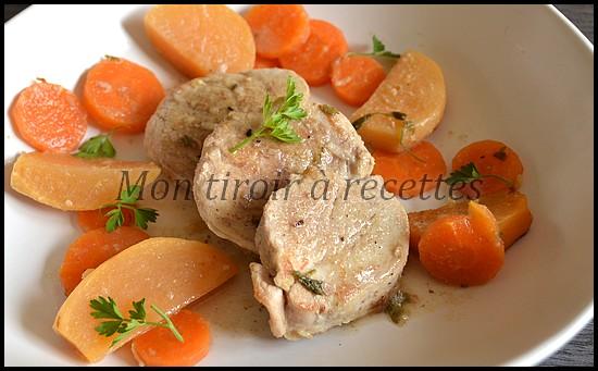filet mignon carottes