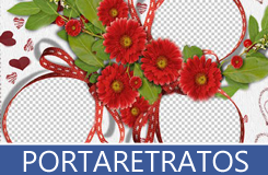 Portaretratos, marcos y frames psd y png para poner tus fotos favoritas