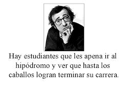 Reflexiones de Woody Allen