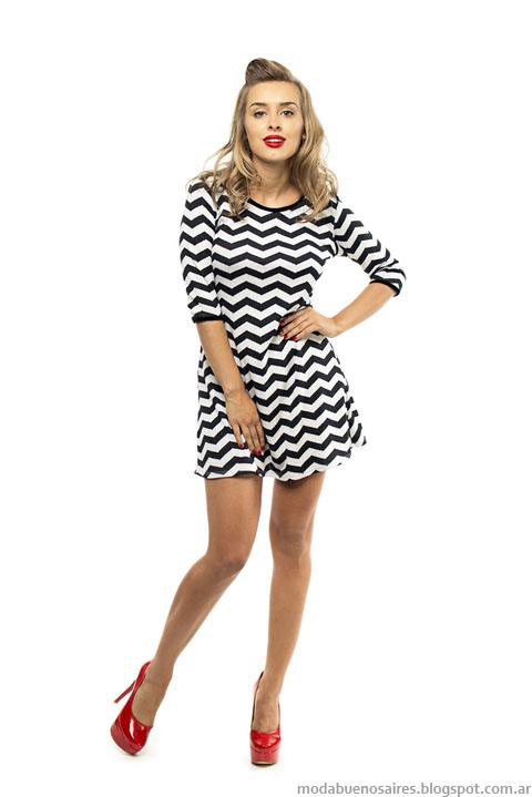 Vestidos invierno 2015 moda mujer Camaruco.