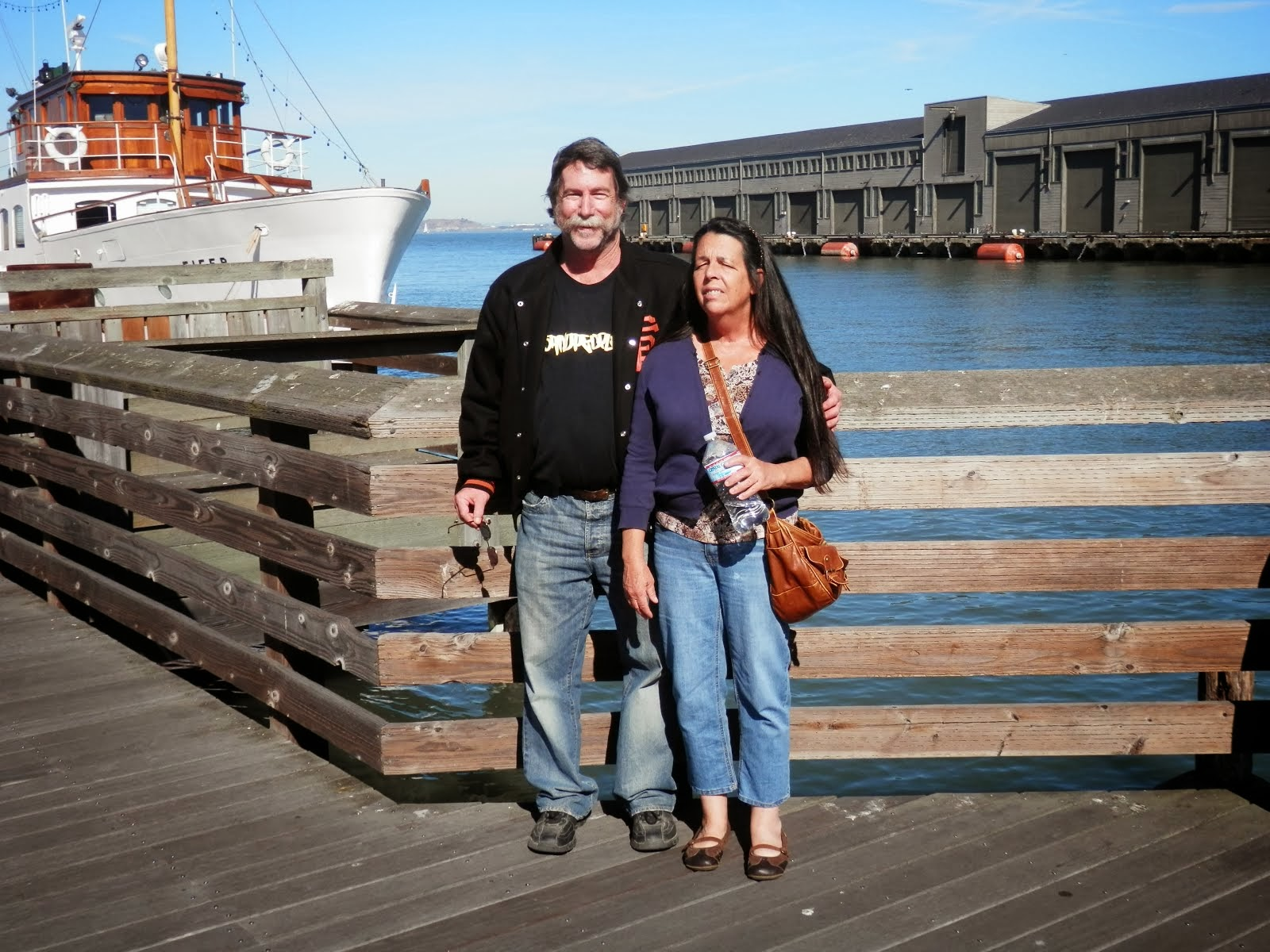 At the wharf in San Francisco