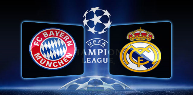 Real Madrid vs Bayern Munich 25.04.2012