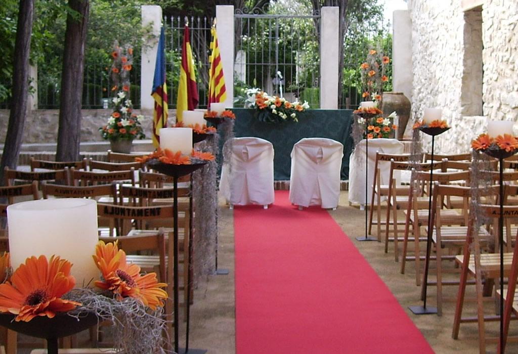 matrimonioe un tocco di classe: decorar la boda civil