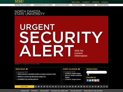 la proxima guerra north dakota university alerta aviso de bomba terrorista