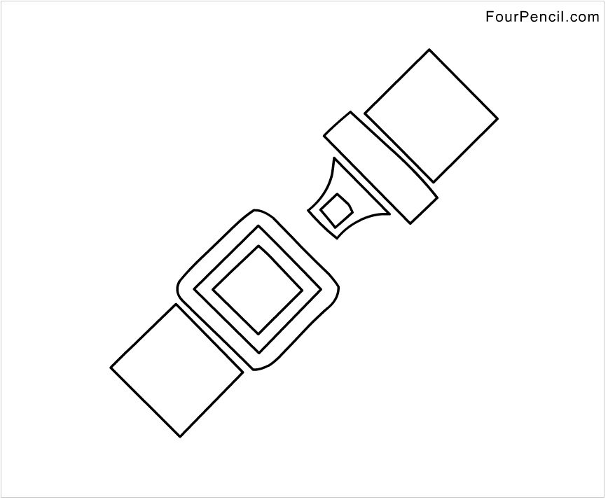 Belt Coloring Pages Page