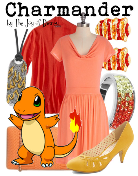 Charmander Outfit, Pokemon Cosplay