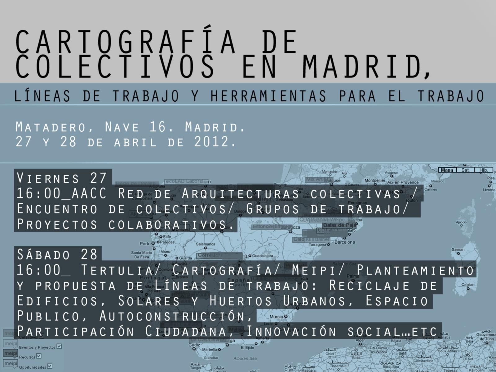 Ecococos encuentro de colectivos arquitectura en el matadero - Trabajo de arquitecto en madrid ...