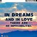 Miłosne cytaty i sentencje po angielsku na zdjęcia na fb / fajne obrazki z cytatami i sentencjami o miłości po angielsku na facebooka - Janos Arnay - In dreams and in love there are no impossibilities. / najpiękniejsze zdjęcia nieba