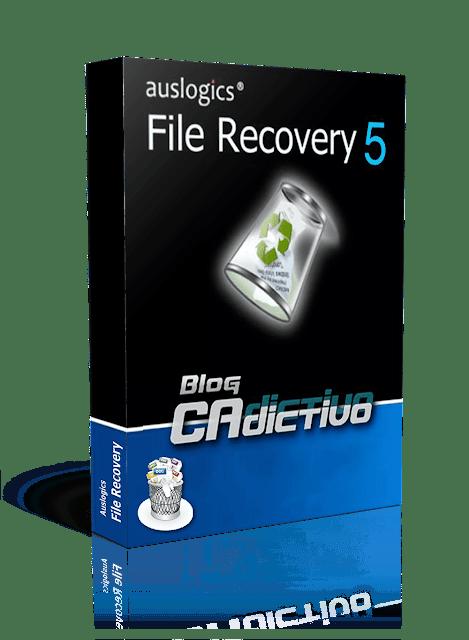 Auslogics File Recovery 5.0.0.0 • Una manera efectiva y fácil de recuperar archivos perdidos