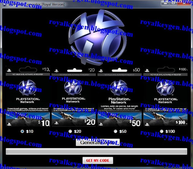 Free PSN Code Generator - Playstation Network Codes NEW NO SURVEY