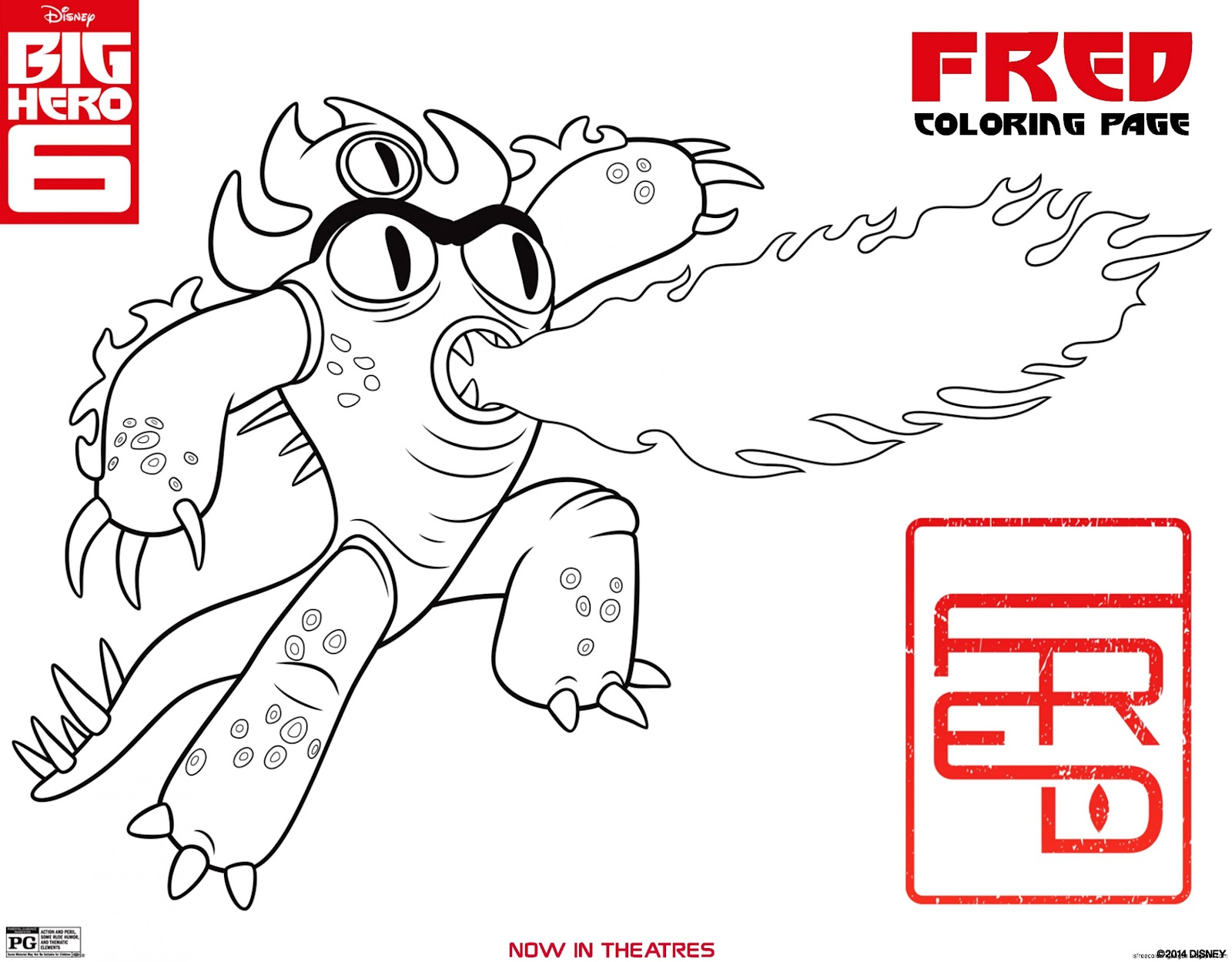 View Original Size Big Hero 6 Coloring Pages Image Source From This