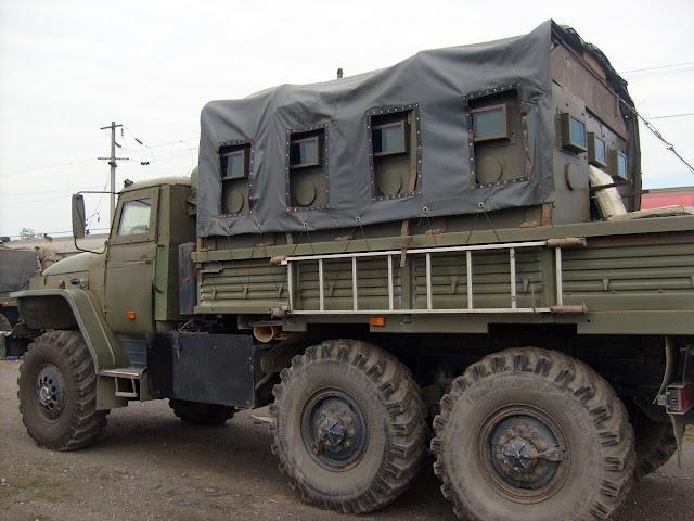 Бронированный Урал для Кавказа