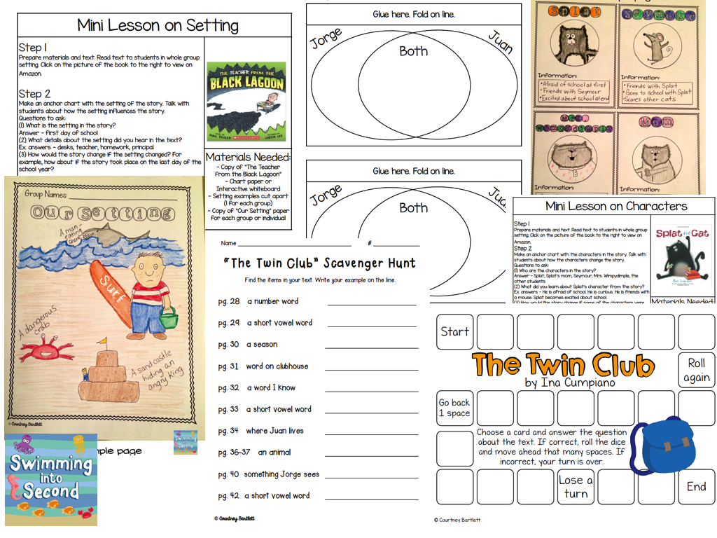 www.teacherspayteachers.com/Product/The-Twin-Club-resources-for-Reading-Street-1341758