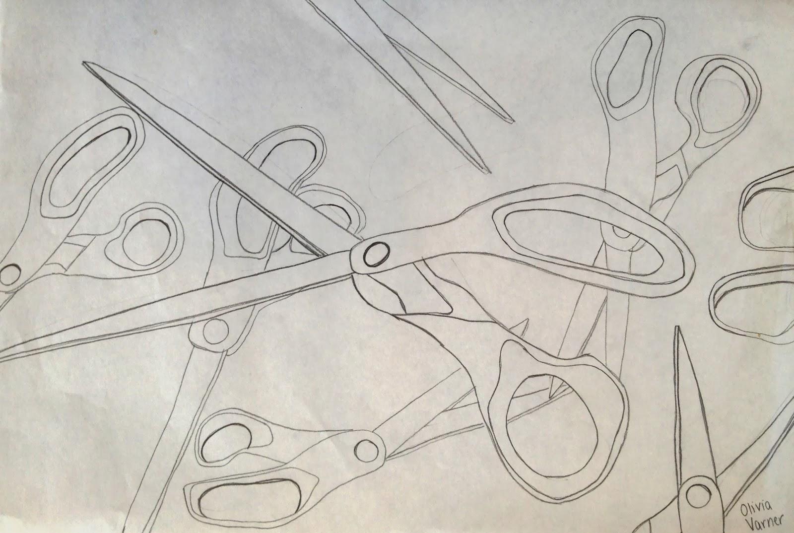 Contour Line Drawing Th Grade : Th grade visual arts news ashley hall
