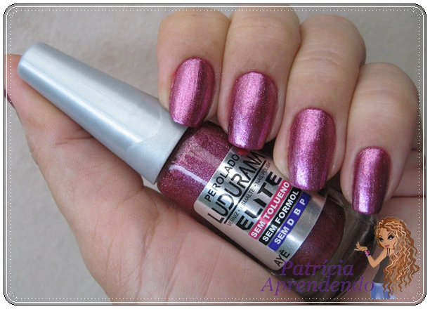Roxo rosado metálico muito lindo
