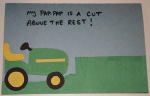 tarjetas infantiles dia del padre