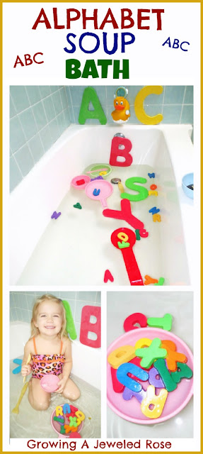 Alphabet Soup Bath