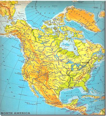 GERMANDAVIDPARRA mapa fisico de america