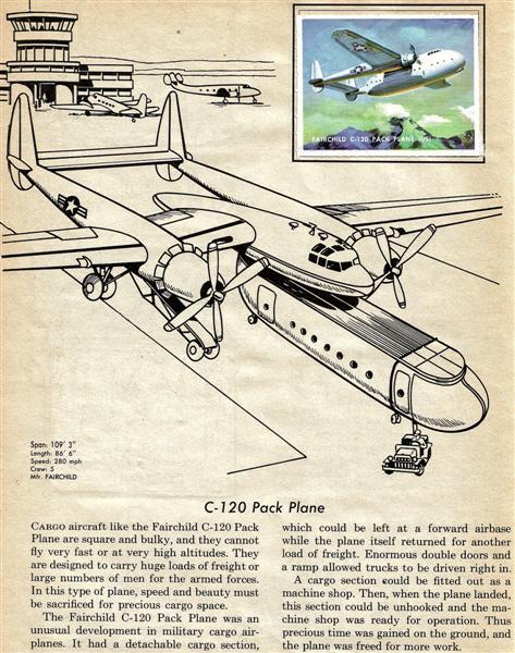 aviones extraños de la guerra fria, el XC 120