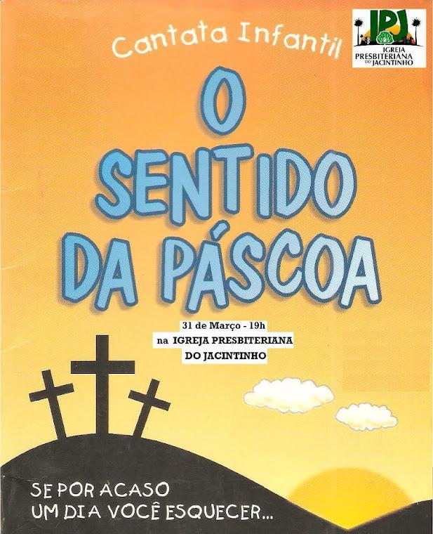 CARTAZ DA PASCOA