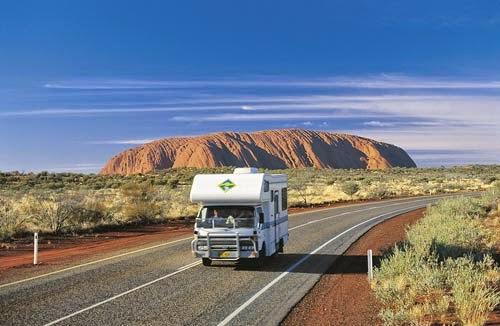 Reisen mit dem Wohnmobil in Australien