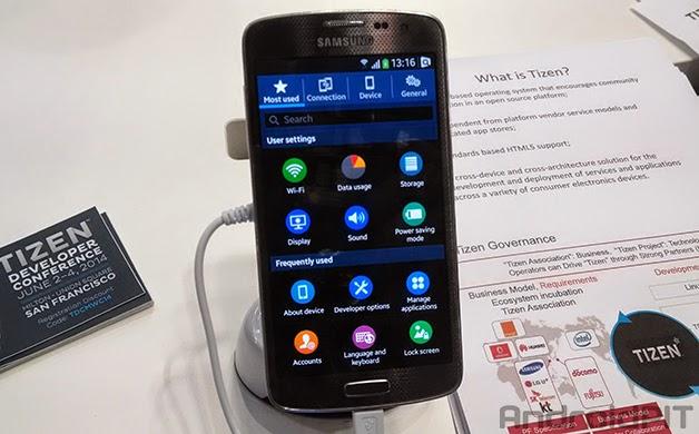 A Samsung afirmou à Reuters que o primeiro smartphone baseado no OS Tizen será lançado até o final do segundo trimestre