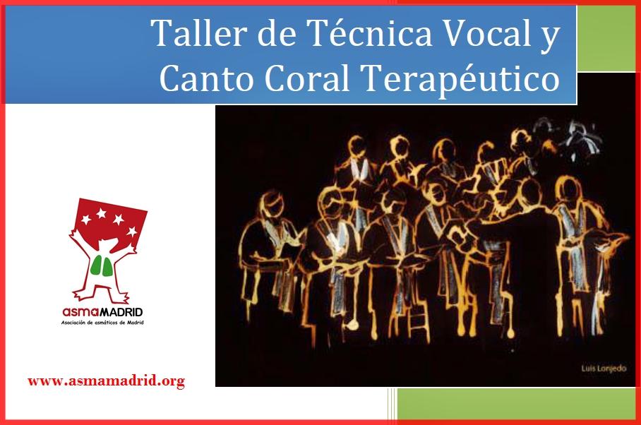 Taller de Técnica Vocal y Canto Coral Terapéutico
