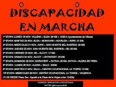 Discapacidad en marcha   7 Etapa