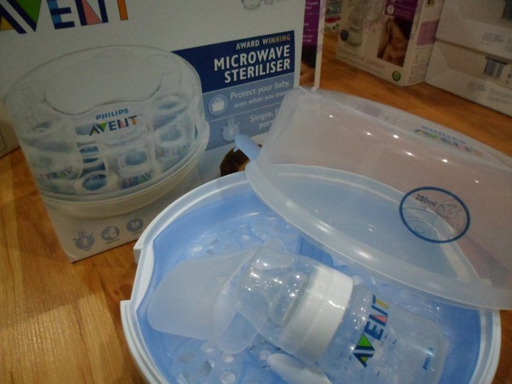 Babygizmo Avent Naturally Express Microwave Steam
