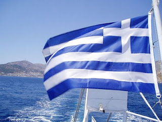 Greek flag- Travel Europe
