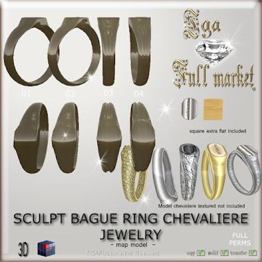 SCULPT BAGUE RING CHEVALIERE JEWELRY