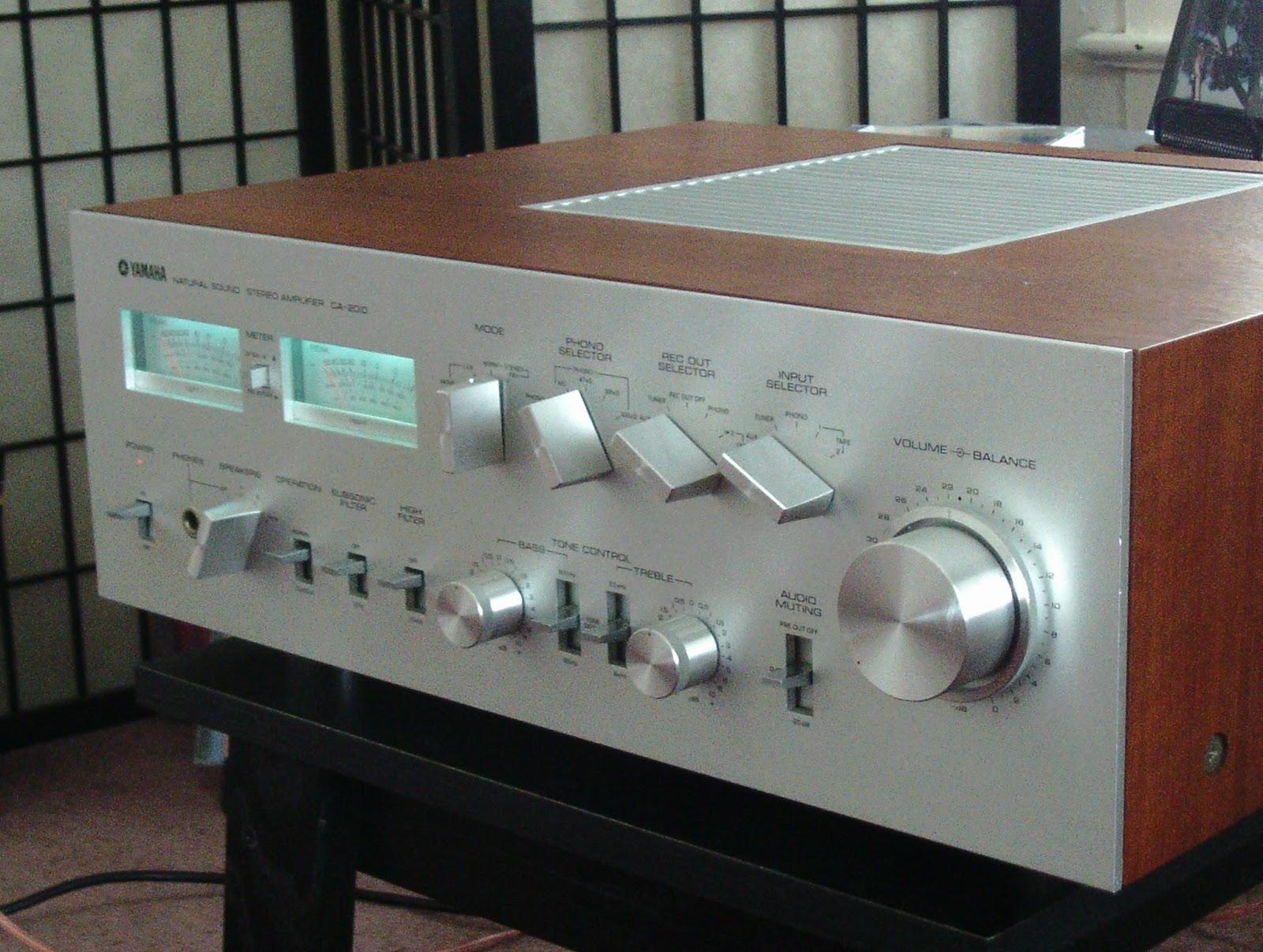 Vintage hi fi audio restorations yamaha ca 1010 ca 2010 for Yamaha thr amplifier