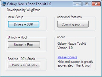 Google Nexus Root Toolkit