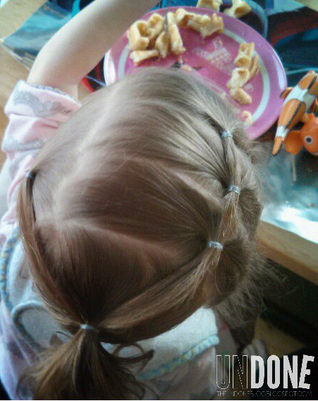 {UNDONE} Toddler Hairdo