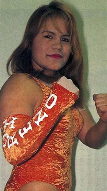 Luchadora - Alda Moreno