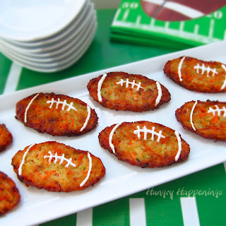 Football Fritters Super Bowl Appetizer