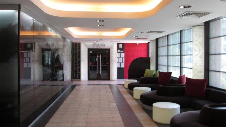 Le lobby - Salon d'accès au restaurant - Manava Tahiti