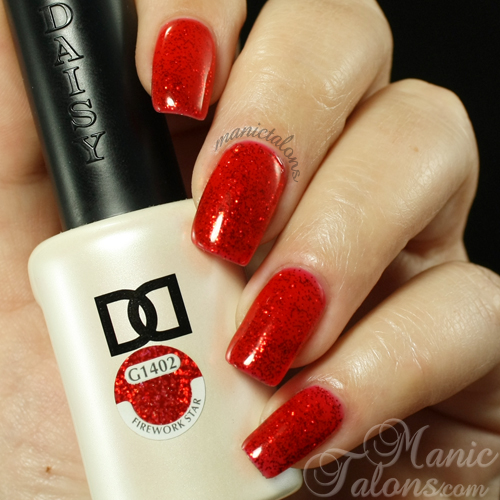 Daisy Duo Firework Star Swatch