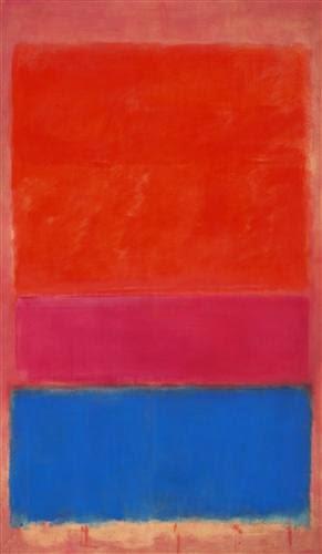 Марк Ротко №1 (Королевский красный и синий)