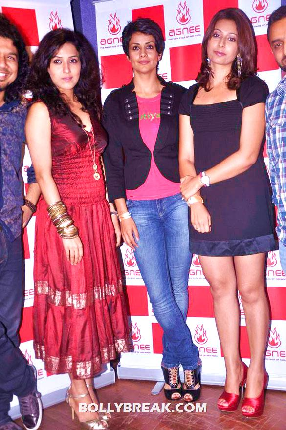 Gul Panag - (2) - Gul Panag, Mrinalini Sharma and others at Agnee's Bollywood debut gig
