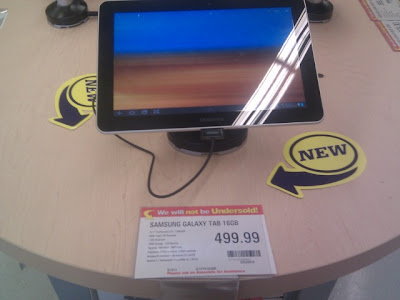 Galaxy Tab 10.1 Released in Canada