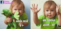 Imagens de bebes fofos para o Facebook