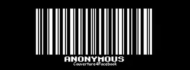 anonymous couverture facebook