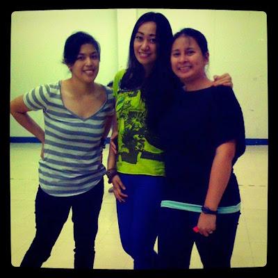 Kat Quimpo, Trisha Sebastian and Nxtgen Dance Crew Dance rehearsal   The Freedom we Know