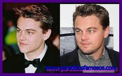 Leonardo Di Caprio foto antes y después