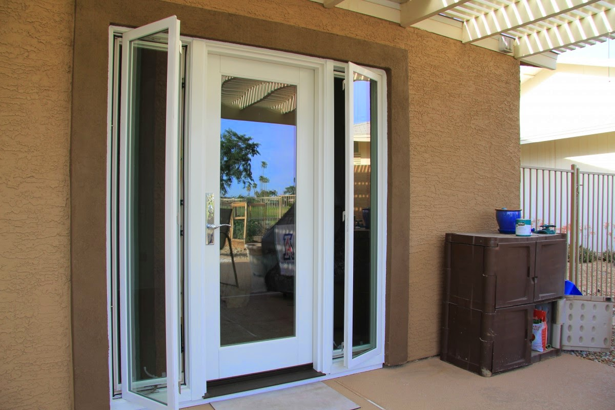 Exterior Single French Doors single french patio door with sidelights single patio door with