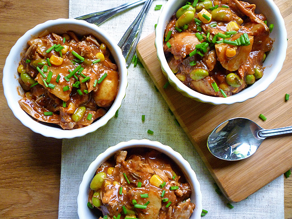 Slow Cooker Chicken Brunswick Stew Recipe